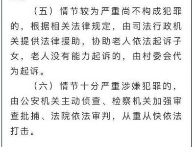 """保障老年人權益別被""""忤逆不孝""""帶歪"""